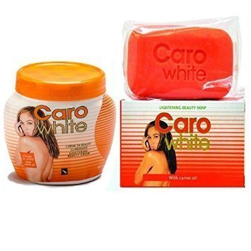 Caro White Lightening Treatment Includes: Beauty Jar Cream + Beauty Soap (Kit)