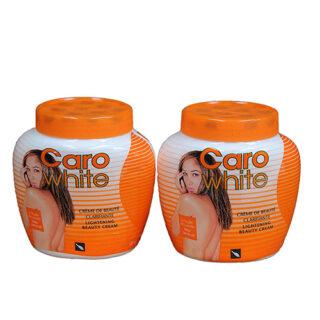 Caro White Lightening Beauty Cream with Carrot Oil 500 Ml (2 pack)