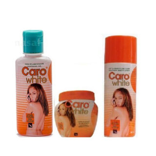 CARO-WHITE SUPER SET (lotion 300ML, creme 120ML, and oiL 50ML)
