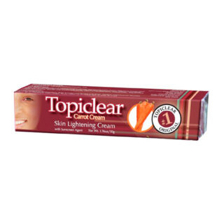 Buy Topiclear Carrot Cream Skin lightening Cream 1.76 oz.