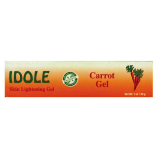 Idole Organic Skin Lightening Carrot Gel 1.06 oz.