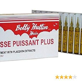 Betty Hutton Hair Treatment with Placenta Extracts 0.33 oz.