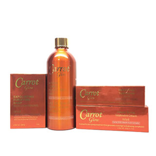 Carrot Glow Set Milk Soap Cream Gel