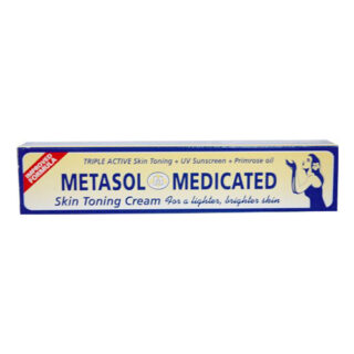 Metasol Medicated Skin Lightening Cream 1.76 oz. (Pack of 2)