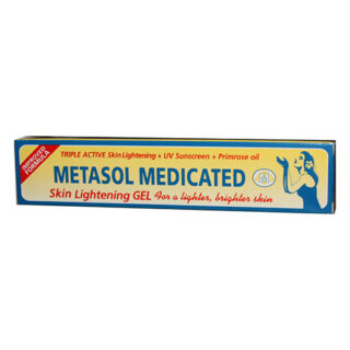 Metasol Skin Ligthening Gel Tube 1.76 oz. (Pack of 2) by Metasol