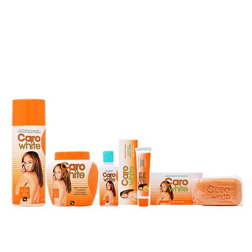 Buy Caro White Package I (Lotion + Cream 16.9oz + Oil 1.7oz + Cream (Tube) 1oz + Soap 6.3oz)