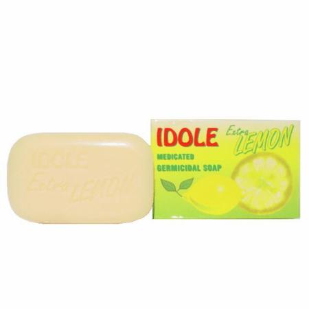 Idole Extra Lemon Medicated Germicidal Soap
