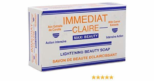Immediat Claire Lightening Beauty Soap 6.7oz