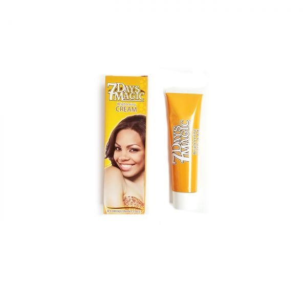 7 Days Magic Brightening Cream.