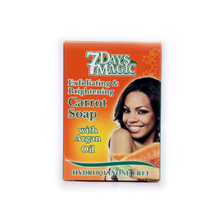buy 7 Days Magic Exfoliating and Brightening Carrot Soap online