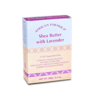 Buy Lavender Soap with Organic Shea Butter| Shea Moisture Benefits| OBS