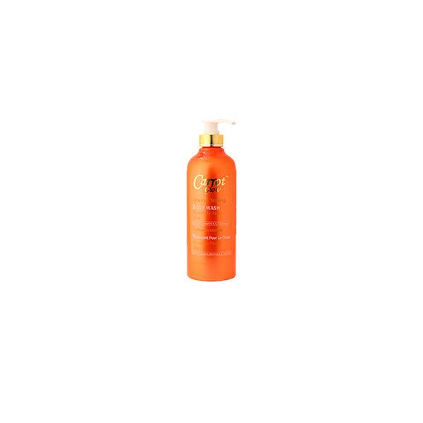Carrot Glow Intense Toning Body Wash Rosemary Mint 27 fl. oz. / 750 ml