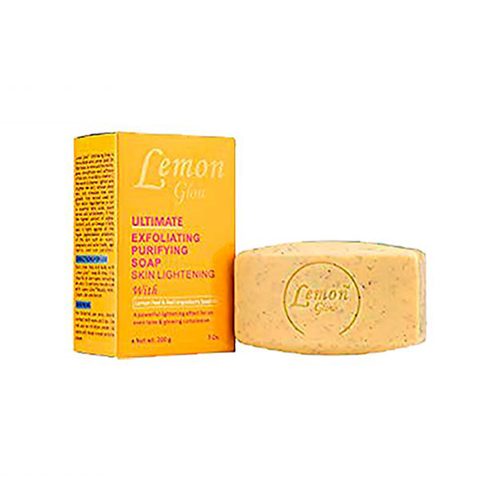 Lemon Glow Ultimate Exfoliating Purifying Soap