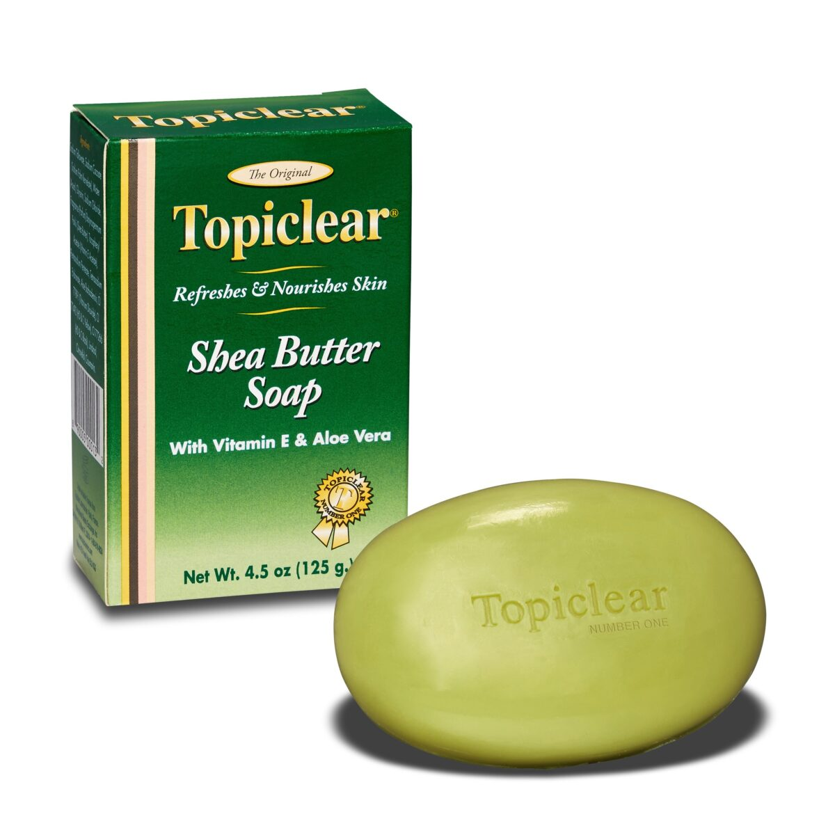 Topiclear Gold Shea Butter Soap