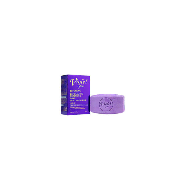 Violet Glow Extensive Exfoliating Purifying Soap 7 oz. / 200 g