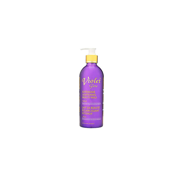 Violet Glow Extensive Brightening Beauty Milk 16.8 fl. oz / 500 ml