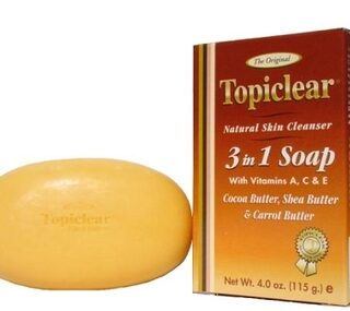 Buy Topiclear Gold Natural Skin Cleanser 3 In 1 Soap