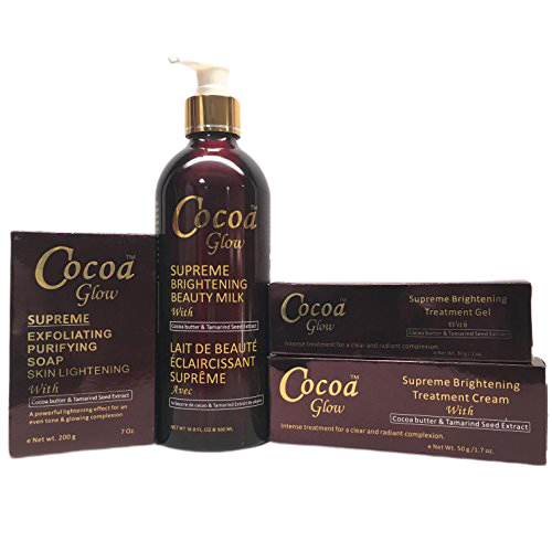 Buy Cocoa Glow Set Milk Soap Cream Gel