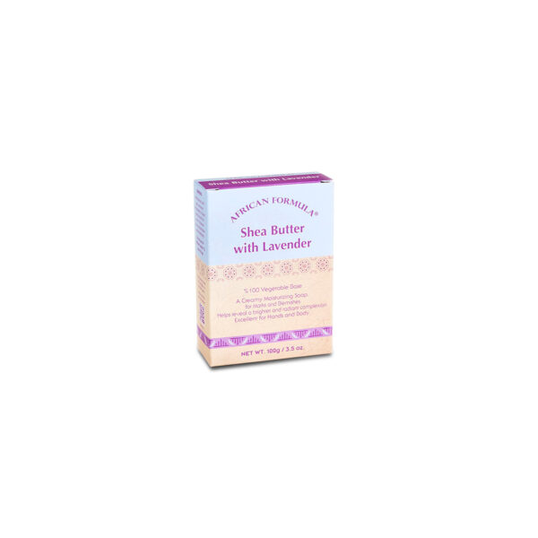 African Formula Shea Butter With Lavender Soap 100g