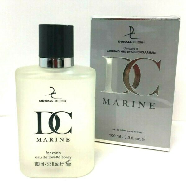 DC MARINE BY DORALL COLLECTION COLOGNE FOR MEN 3.3 OZ / 100 ML EAU DE TOILETTE SPRAY