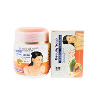 Buy Papaya Lightening Beauty Combo | Soap & Cream | OBS