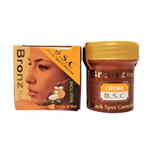 buy BronzTone Dark Spot Corrector 30ml/1 fl.oz. with Cocoa Butter & Honey Extracts.