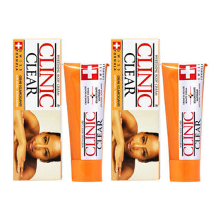 Buy Clinic Clear Whitening Body Cream (Pack of 2) || Order Beauty Supply