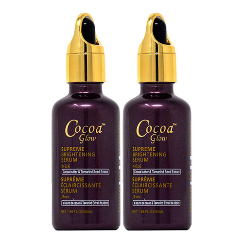 Buy Cocoa Glow Supreme Brightening Serum (Pack of 2)   Benefits   OBS