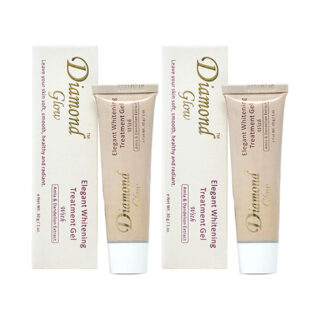 Buy Diamond Glow Elegant Whitening Treatment Gel (Pack of 2) | | OBS