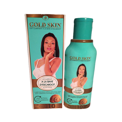 Buy Gold Skin Clarifying Body Lotion With Snail Slime-Results in 10 Days (No Hydroquinone) 250ml, 8.45 fl.Oz.