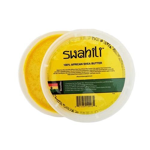 buy Swahili 100% PURE Yellow African Shea Butter 16oz.