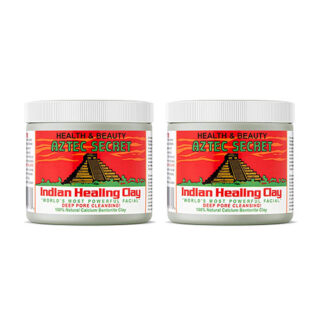 Buy Aztec Secret Face Healing Clay (Pack of 2) | Deep Pore Cleansing