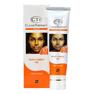 """Clear Therapy + 10 Days Tube Cream with""""Carrot Oil"""" 50g"""