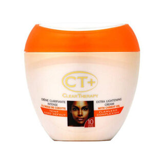 "Clear Therapy + Extra Lightening Cream with""Carrot Oil"" 200ml"