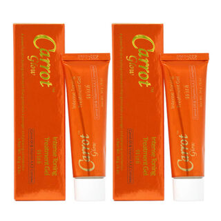 Buy Carrot Glow Intense Skin Toning Treatment Gel (Pack of 2) | | OBS
