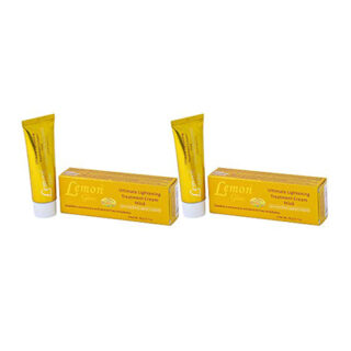 Buy Lemon Glow Ultimate Lightening Treatment Cream (Pack of 2) || OBS