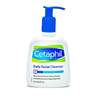 Buy Cetaphil Daily Facial Cleanser for Normal to Oily Skin, 8 Ounce