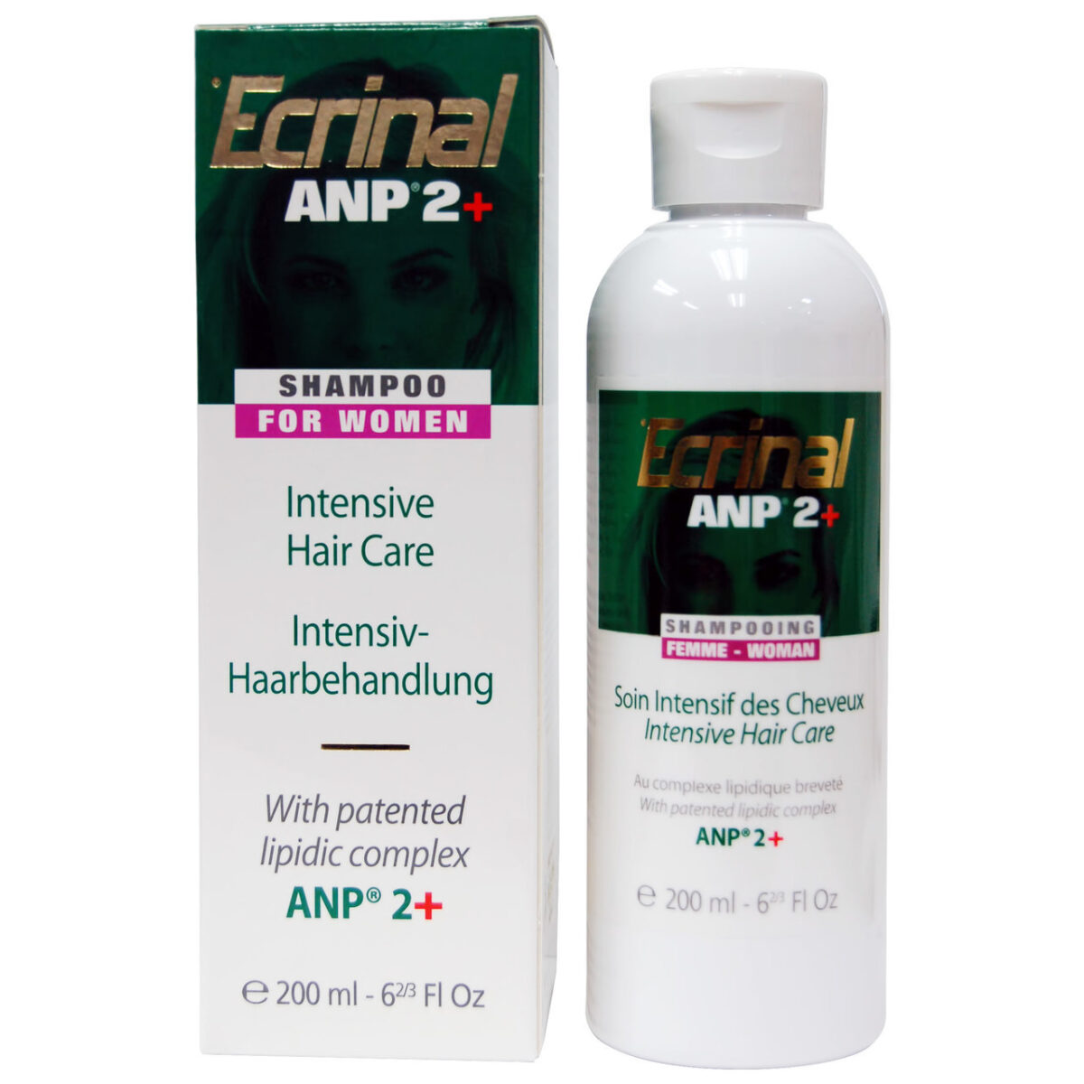 Ecrinal ANP 2 Plus Shampoo for Women 6.66 oz