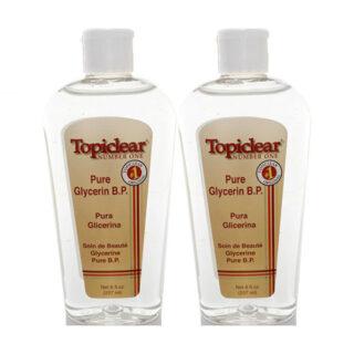 Buy Topiclear Pure Glycerin Skin Moisturizer B.P 8 oz - Pack of 2
