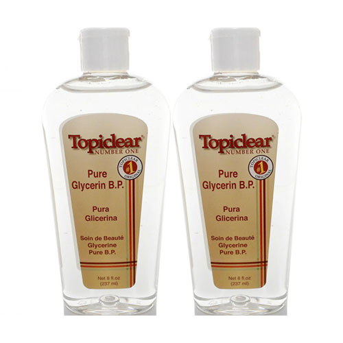Buy Topiclear Pure Glycerin Skin Moisturizer B.P 8 oz - Pack of 2