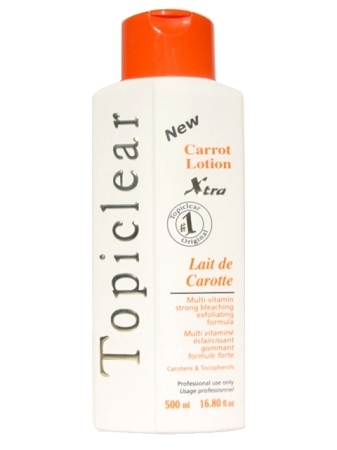 Topiclear Carrot Lotion Xtra 16.8 oz. (500 ml)