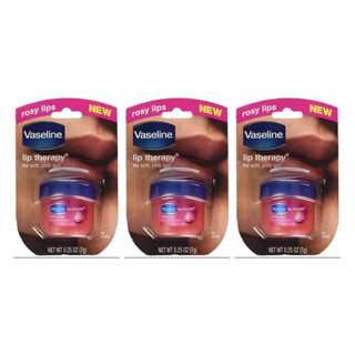 buy Vaseline Rosy Lips, Lip Therapy .25 Oz - Pack Of 3
