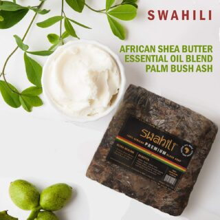Buy Raw Swahili African Premium Black Soap Online