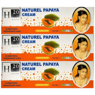 Buy H2O Papaya Lightening Beauty Cream (Pack of 3) | Benefits | OBS