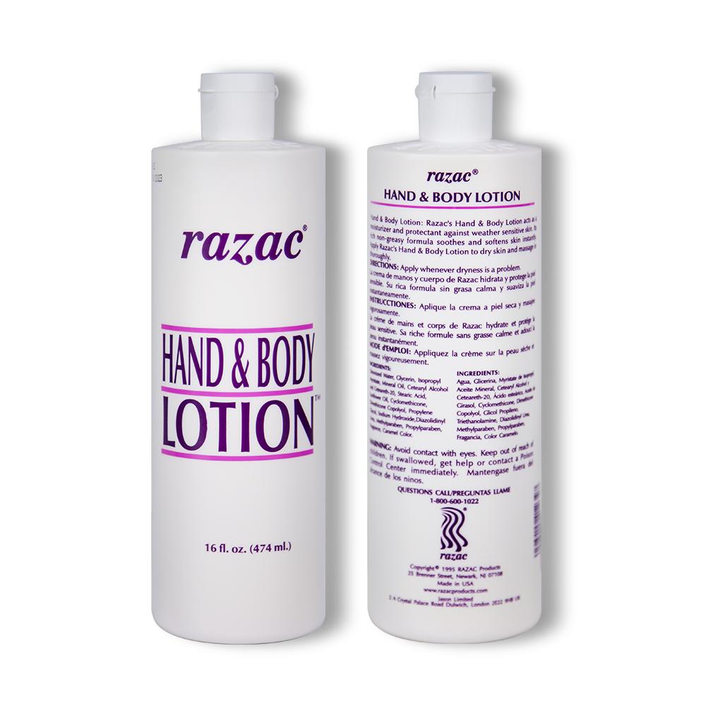 Razac Hand and Body Lotion 16 Ounce/ 474ml