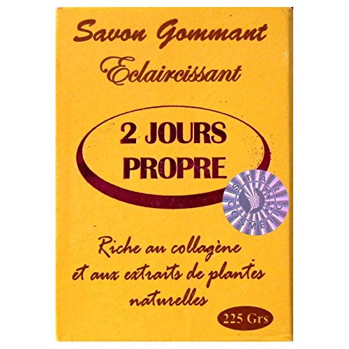 2 JOURS PROPRE Exfoliating soap