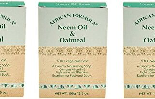 AFRICAN FORMULA NEEM OIL& OATMEAL 3.5 OZ 100% Vegetable Base