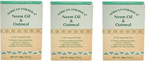 AFRICAN FORMULA NEEM OIL& OATMEAL 3.5 OZ 100% Vegetable Base
