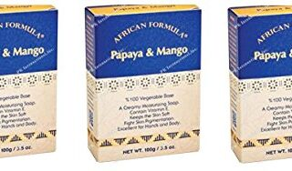 Buy African Formula Papaya & Mango Creamy Moisturising Soap Lot of 3