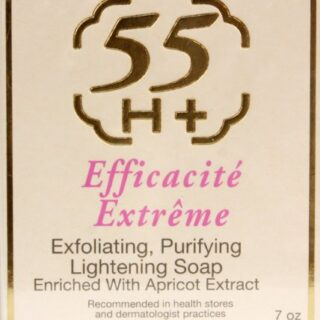 Buy 55H+ Lightening Exfoliating Soap (Pack of 6) | Benefits || OBS